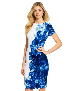 Lace Side Pleated