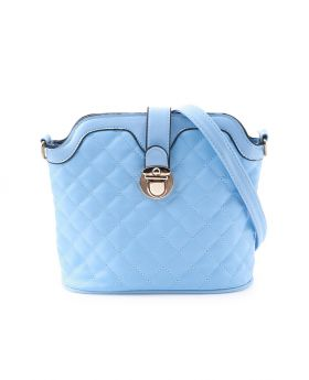 Pebbled Leather Clutch