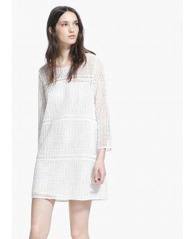Hem ruffle dress