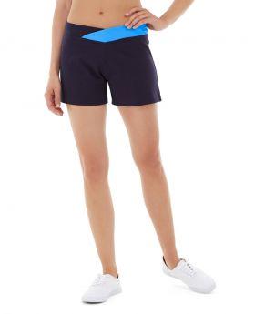 Bess Yoga Short-30-Blue